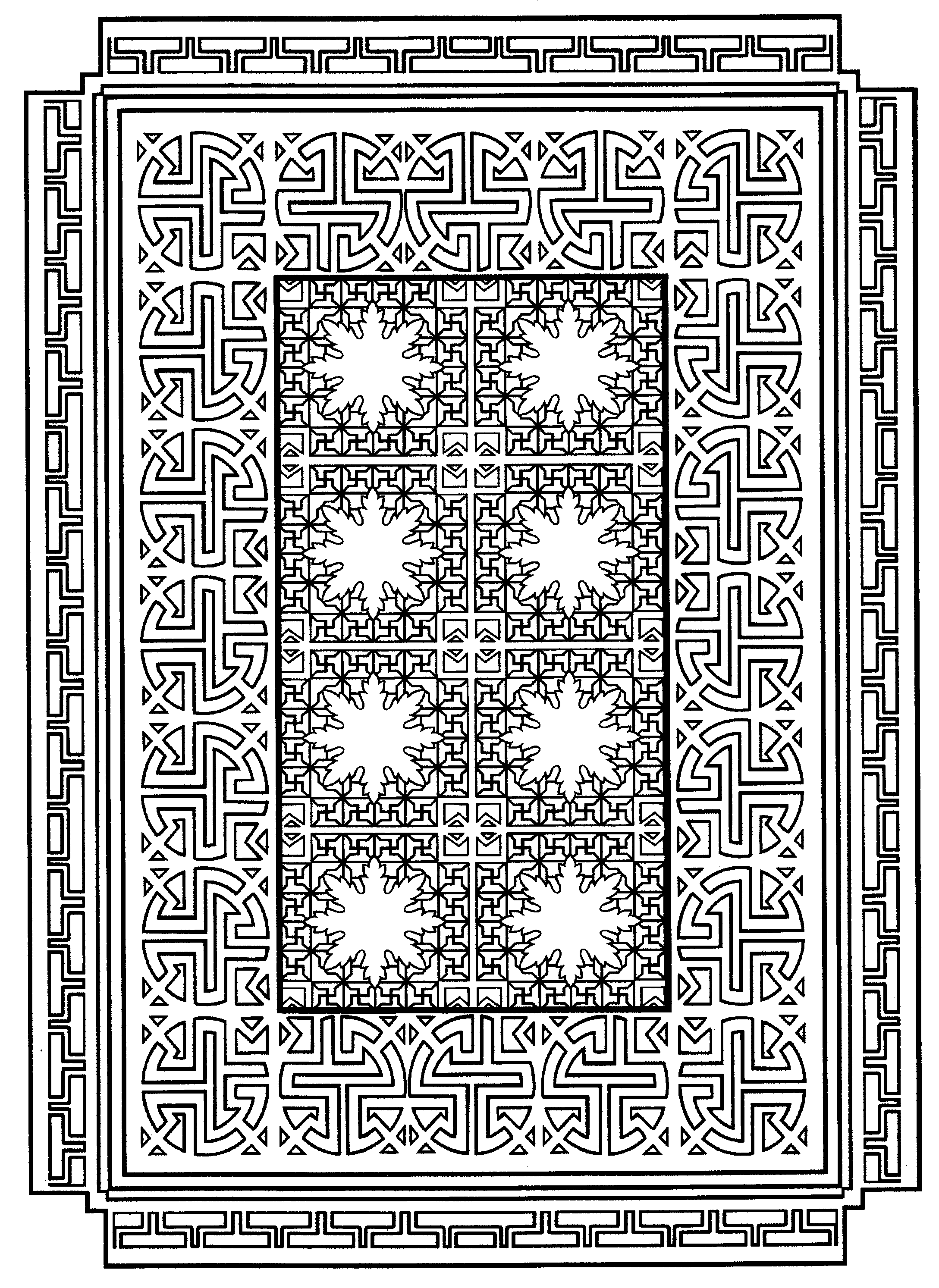 Page 21 from Decorative Tile Designs by Marty Noble