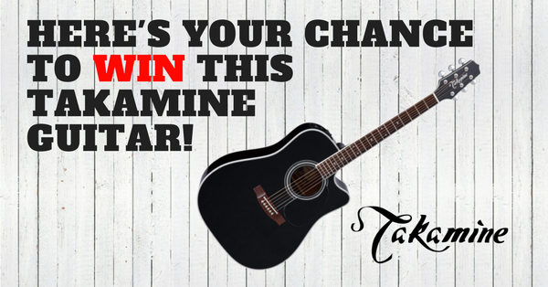 Guitar contest sweepstakes