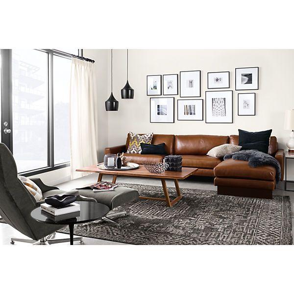 Amira Rugs Braunes sofa, Wohnzimmer und Sofa - Wohnzimmer Braunes Sofa