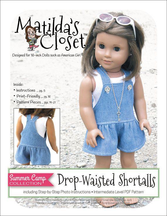 Pixie Faire Matilda\'s Closet Summer Camp Collection: Drop-Waisted ...