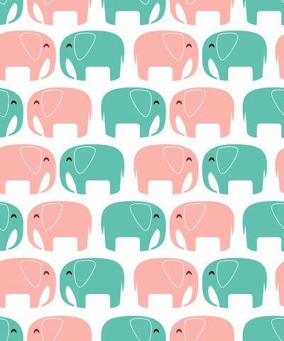 Elefantes Elephant Wallpaper Pink Elephant Wallpaper Wallpaper