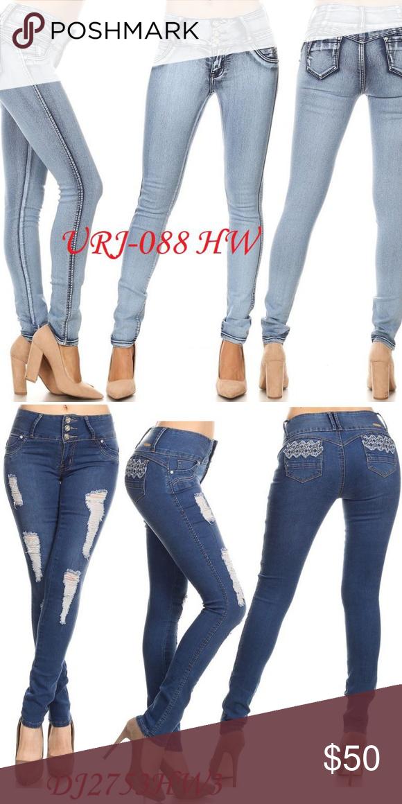 9592c4d6c JEANS COLOMBIANOS ORIGINAL Jeans Colombianos Levanta Cola colombianos Jeans  Boyfriend