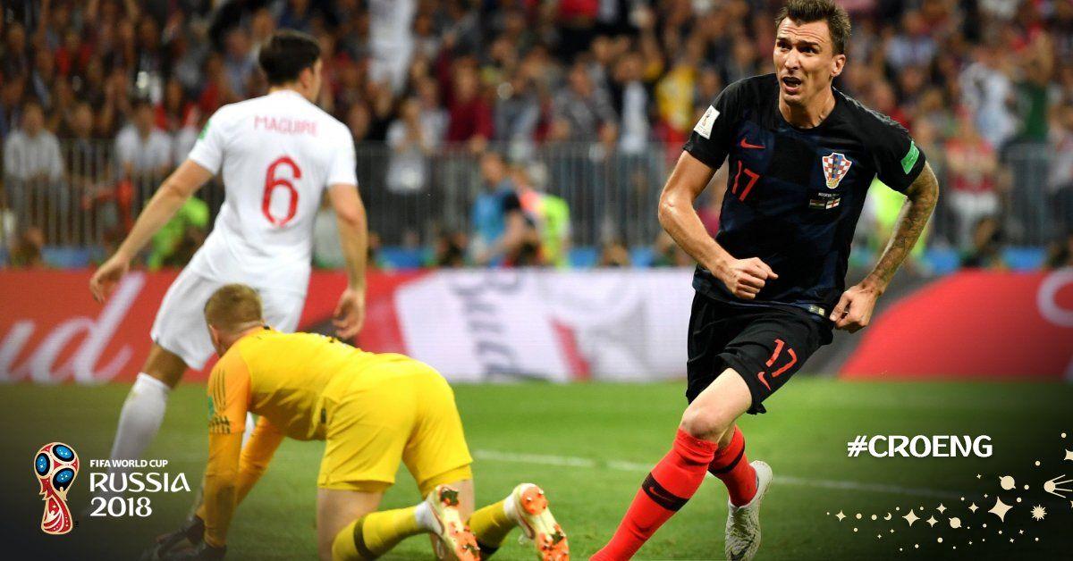 Croatia Fifa Worldcup 2018 Russia World Sports News Mario Mandzukic Fifa