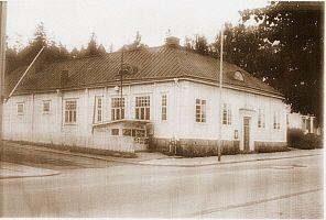 Riihimäen työväentalo – Rity-talo 2. laajennuksen jälkeen 1950-luvulla