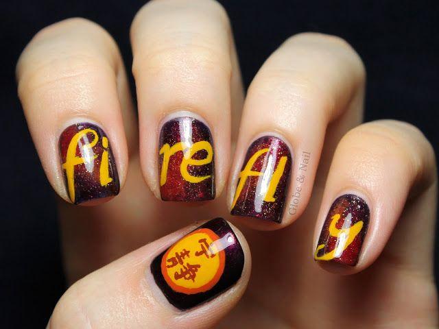 Globe Nail Firefly Art