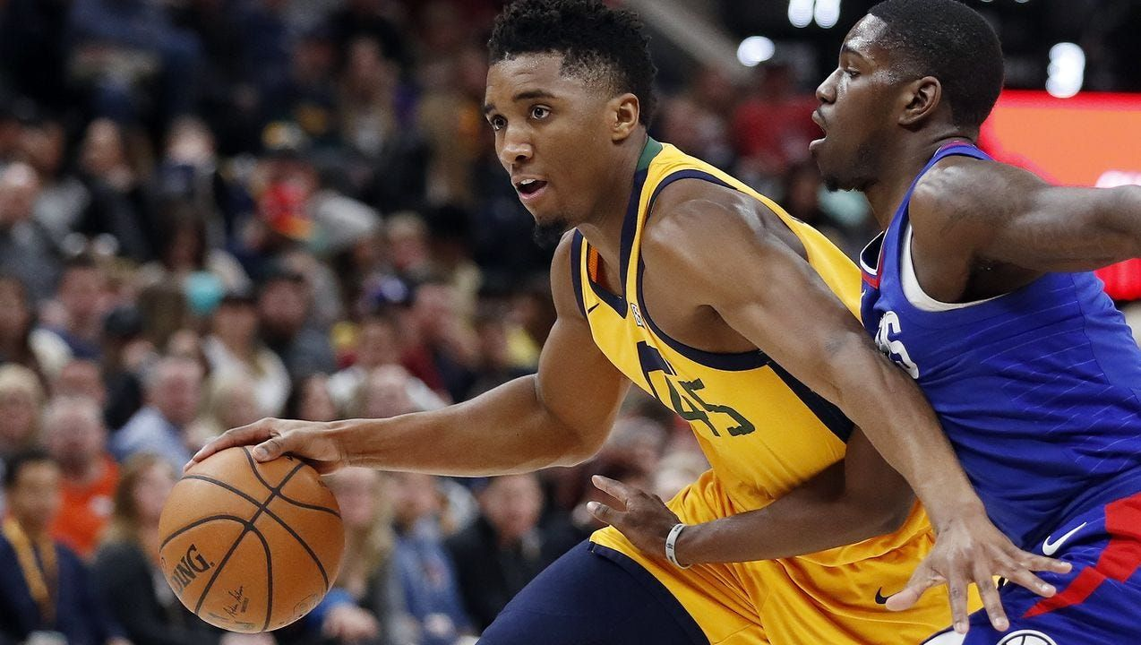 Utah Jazz Handing Reins To Rookie Donovan Mitchell I Didn T Expect Any Of This Donovan Mitchell Donovan Utah Jazz