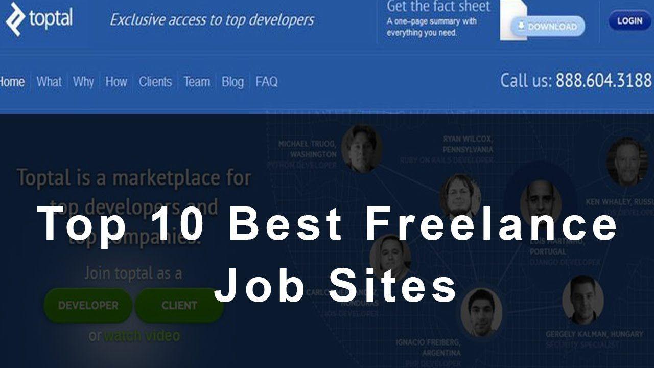 Top 10 Best Freelance Job Sites Best Freelance Websites 2017 Freelancer Website Freelancing Jobs Freelance Graphic Design