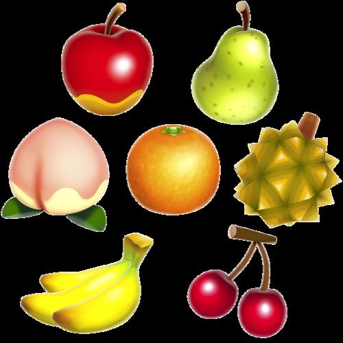 Nevvleaf Transparent Acnl Fruit For Your Blog Animal Crossing
