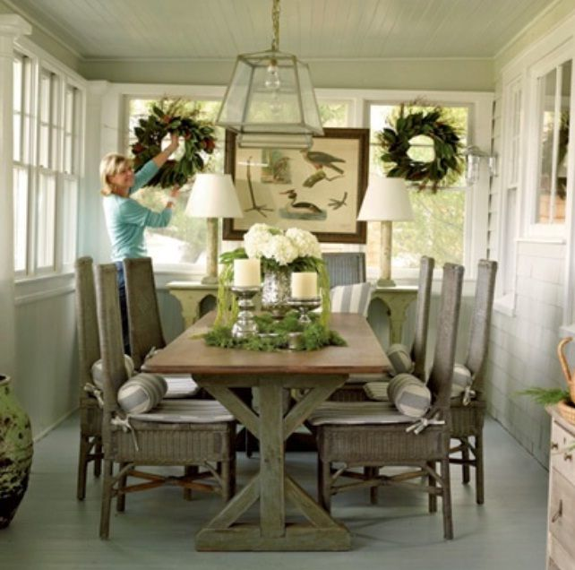 Casual Dining Room Decor Ideas: 15 Outstanding Rustic Dining Design Ideas
