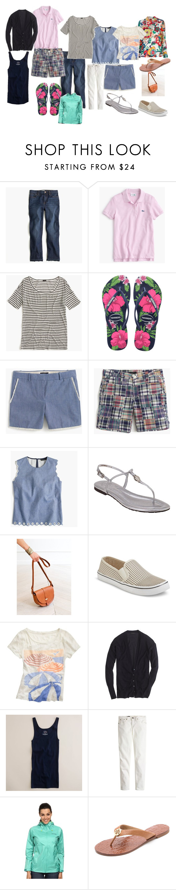 """""""Planning for Daughter's College Move In Weekend"""" by llsdenver on Polyvore featuring J.Crew, Tory Burch, Sézane and Patagonia"""