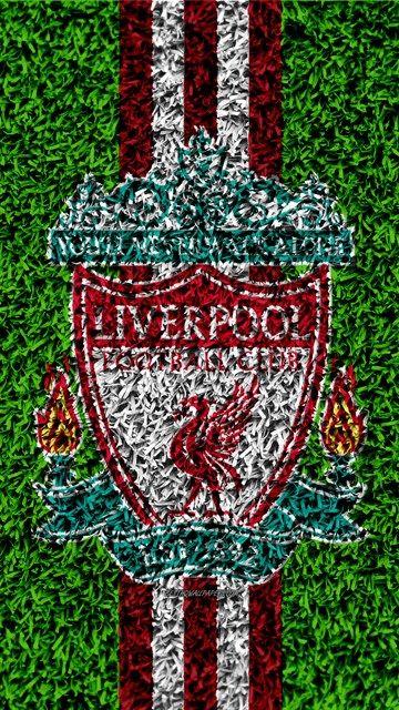 El Liverpool Fc 4k Fútbol De Césped Emblema Merseyside Insignia
