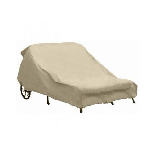 Outdoor Furniture Double Chaise Lounge Cover Lounger Patio Pool Backyard  Patio