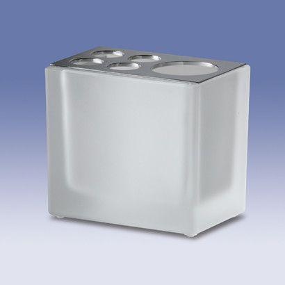 Box Crystal Lineal Toothbrush Holder