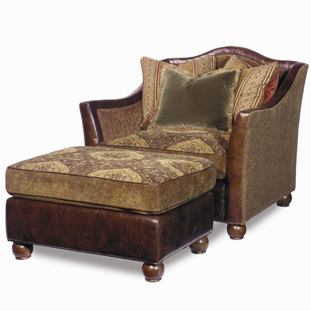 Charmant Craftmaster Estate Upholstered Chair And Ottoman Set At DuBois Furniture