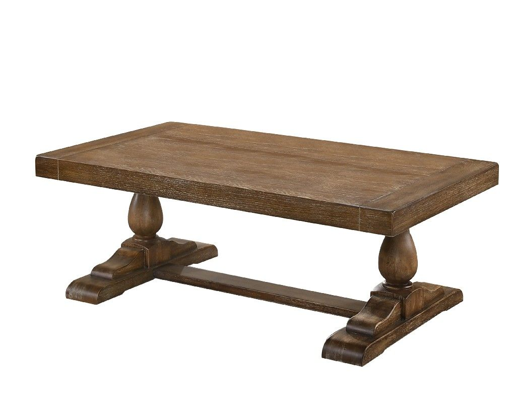 Amy driftwood coffee table best master furniture 229