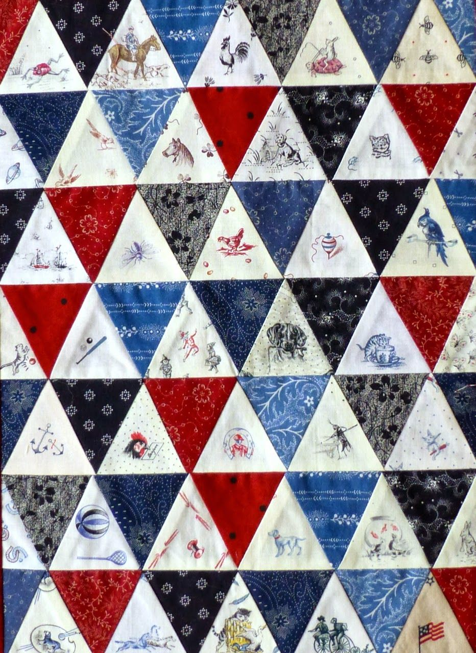 Sally\'s Quilts: Judie\'s prints. | Conversation Prints: Past Perfect ...
