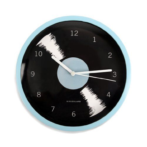 Kikkerland Vinyl Wall Clock by Kikkerland, http://www.amazon.com/dp/B005DTZQ0W/ref=cm_sw_r_pi_dp_JIdNrb1RG1AB0