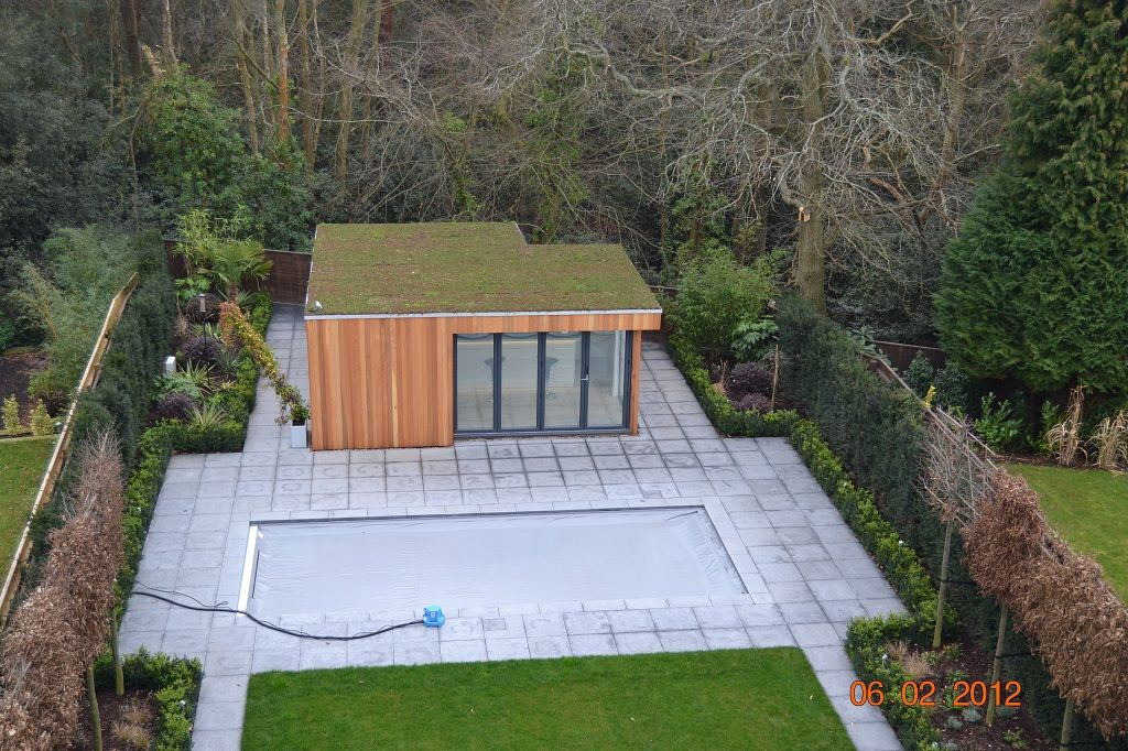 A Large Garden Room, Built By Garden Lodges, This Is Our Garden .