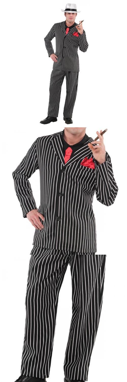 Men 52762 Gangster Costume Adult Al Capone 1920S Halloween Fancy Dress -u003e BUY IT  sc 1 st  Pinterest & Men 52762: Gangster Costume Adult Al Capone 1920S Halloween Fancy ...