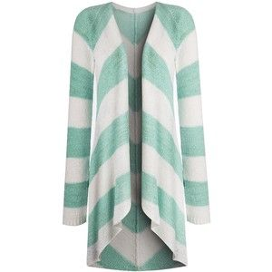Simply Be Stripe Waterfall Cardigan   Fashion   Pinterest ...