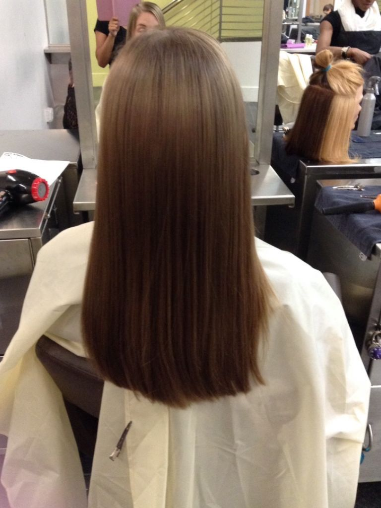 pin on hair cuts: one length