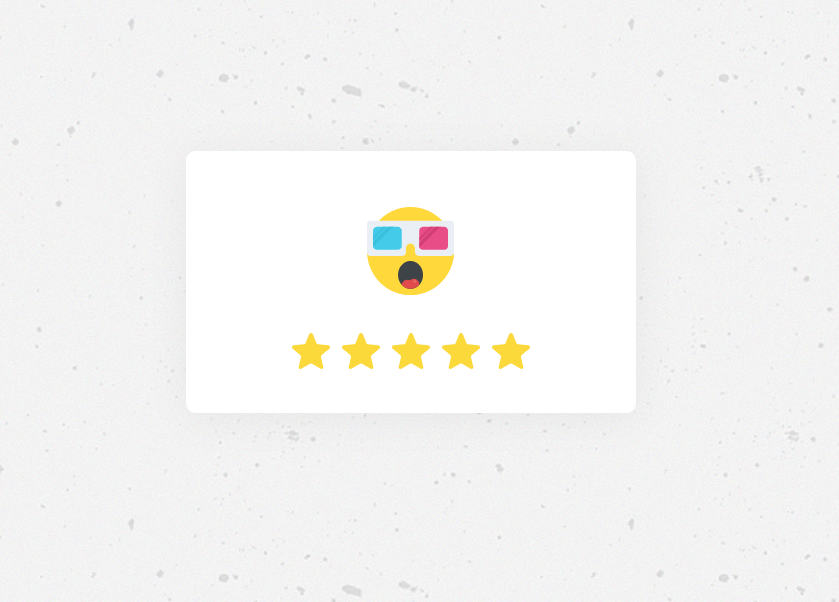 20+ Five Star Rating CSS and JavaScript Examples