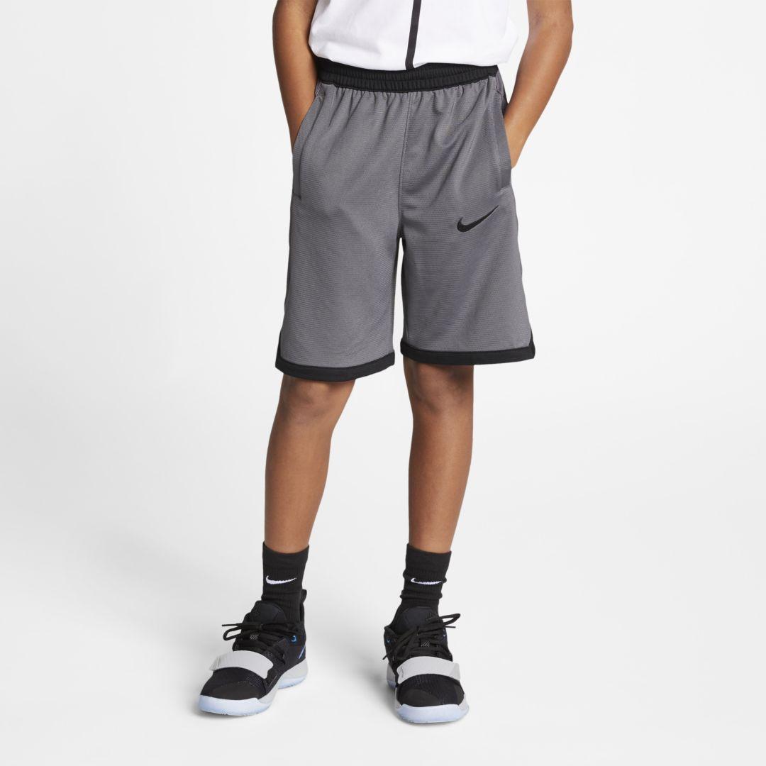 Georgia Bulldogs Boys Youth Elastic Athletic Gym Shorts