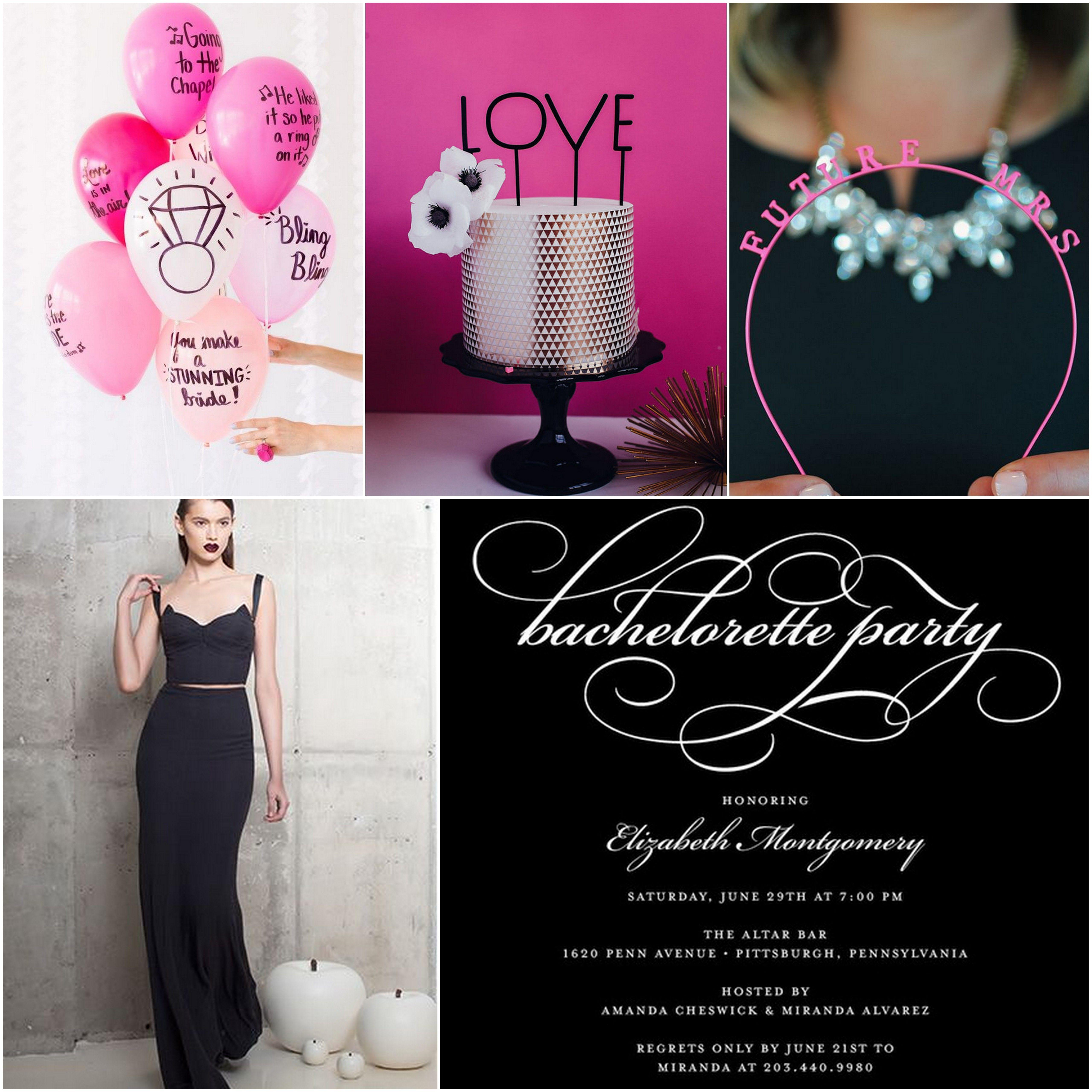 Valentine's Bachelorette Party Inspiration - TrueBlu ...