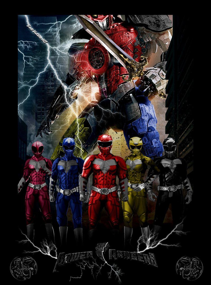 Power Rangers Movie Poster 1 by GeekTruth64 | Power ...