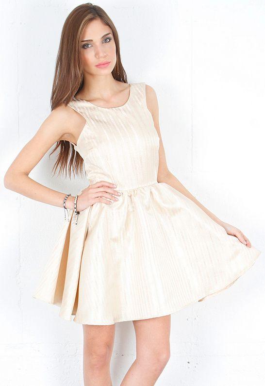 Keepsake Girls Like You Dress in Rose Gold  $119