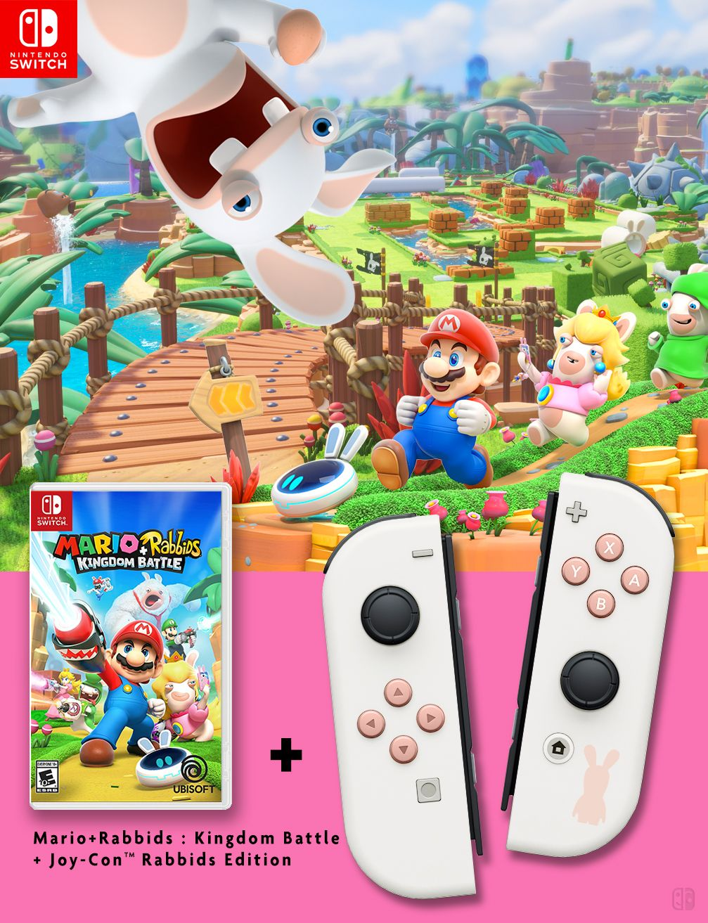 Joy-Con collector Mario + Rabbids Kingdom Battle game
