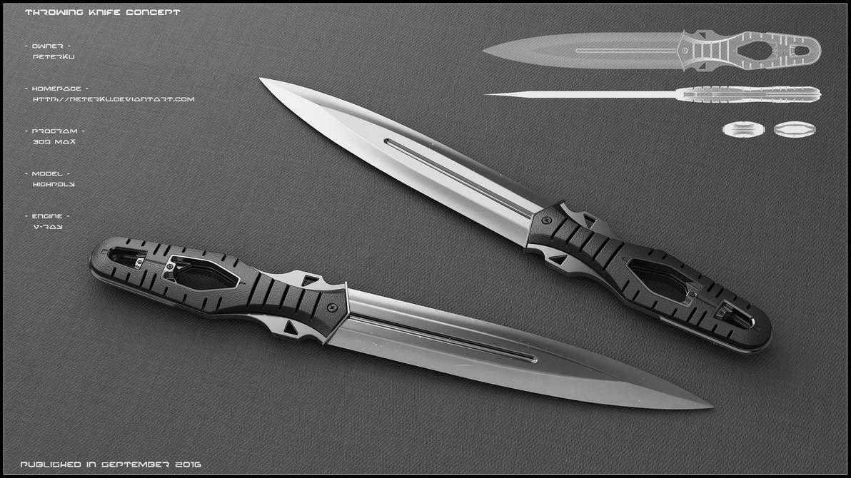 Throwing Knife Concept By Peterku On DeviantArt