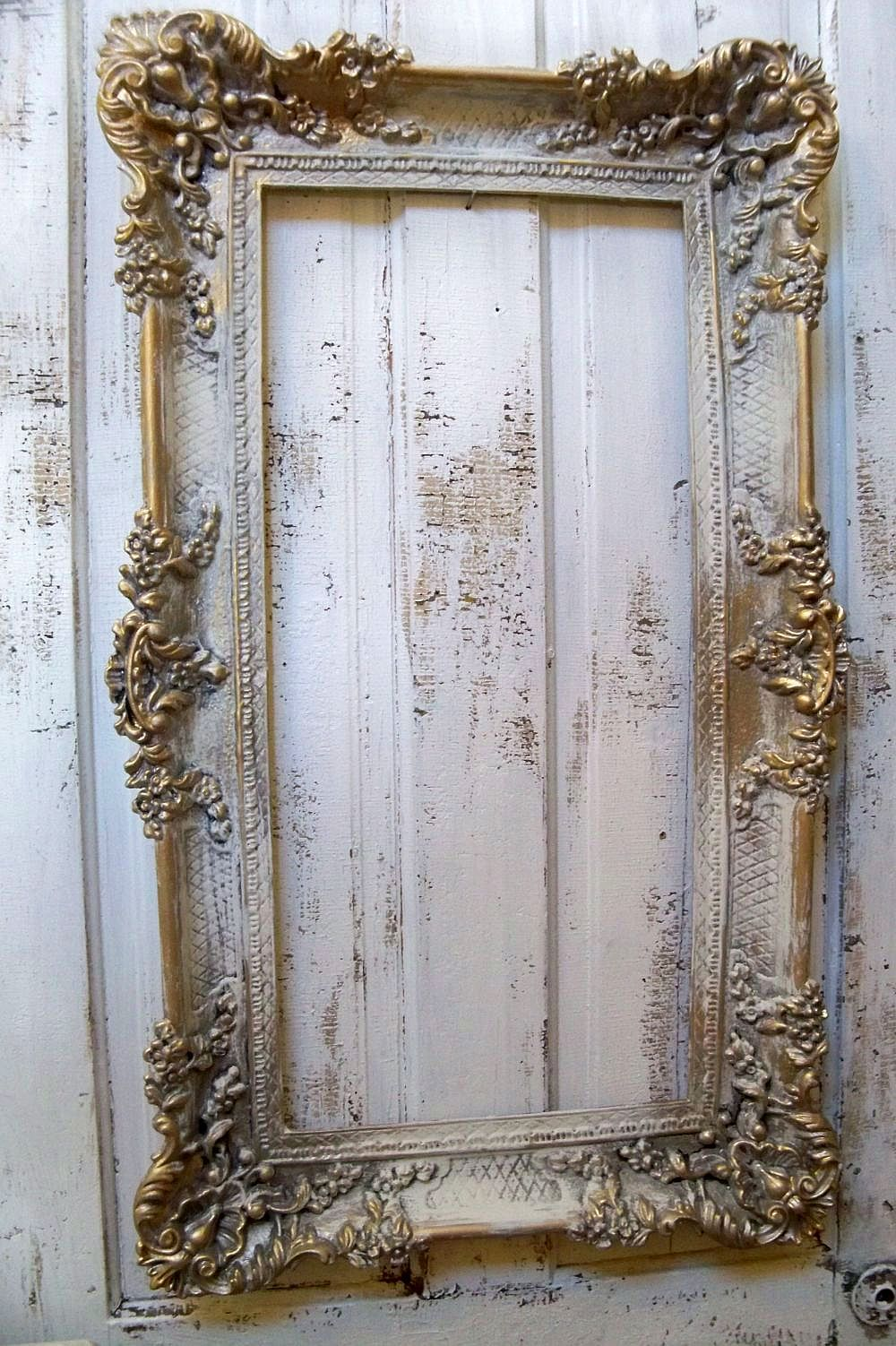 Pin By Dove Cottage On Paint It Antique Frames Shabby