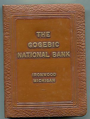 Ironwood Mich The Gogebic National Bank Book Safe With Key Box Book Safe Ironwood Key Box