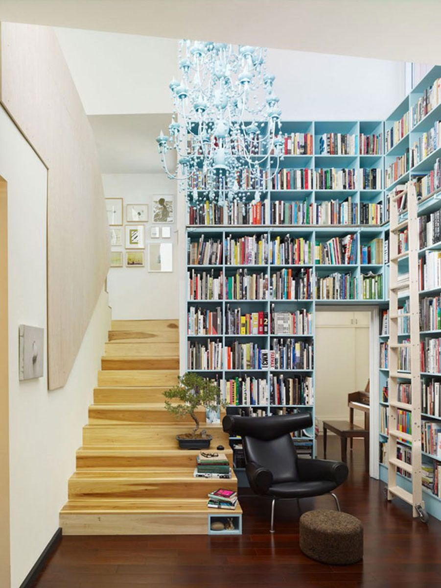 Interior Design Home Library: Images For Tiny House Library