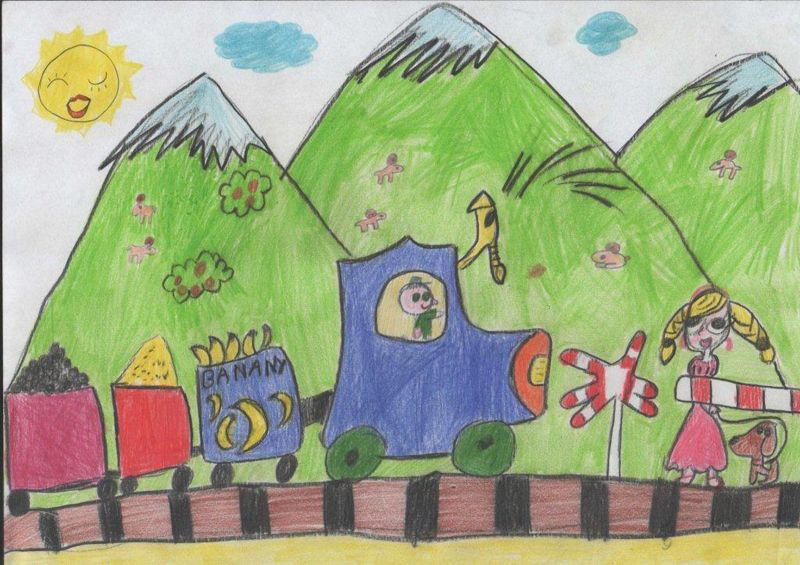 Another 2013 drawing contest entry from a 6-year-old ...