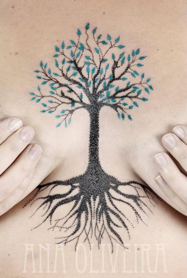 Fyeahtattoos Com Tattoos Sternum Tattoo Triangle Tattoo