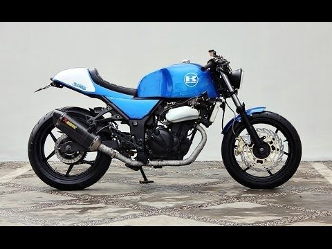 Best Cafe Racer Modification From Kawasaki Ninja 250 300 Garage