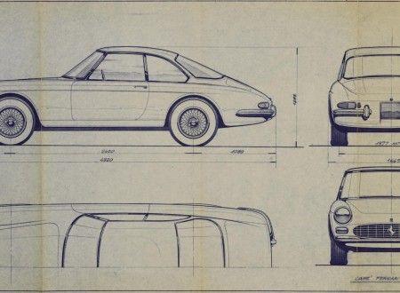 Ferrari 275 gtc prototype pininfarina blueprint blueprint ferrari 275 gtc prototype pininfarina blueprint ferrariporschegraphic design malvernweather Choice Image