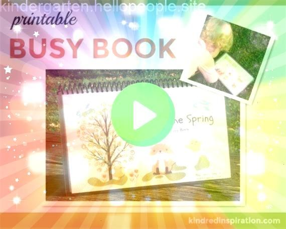 Learning Busy Book Educational Quiet Book Easter Activities and Games Printable Dow Spring Learning Busy Book Educational Quiet Book Easter Activities and Games Printable...