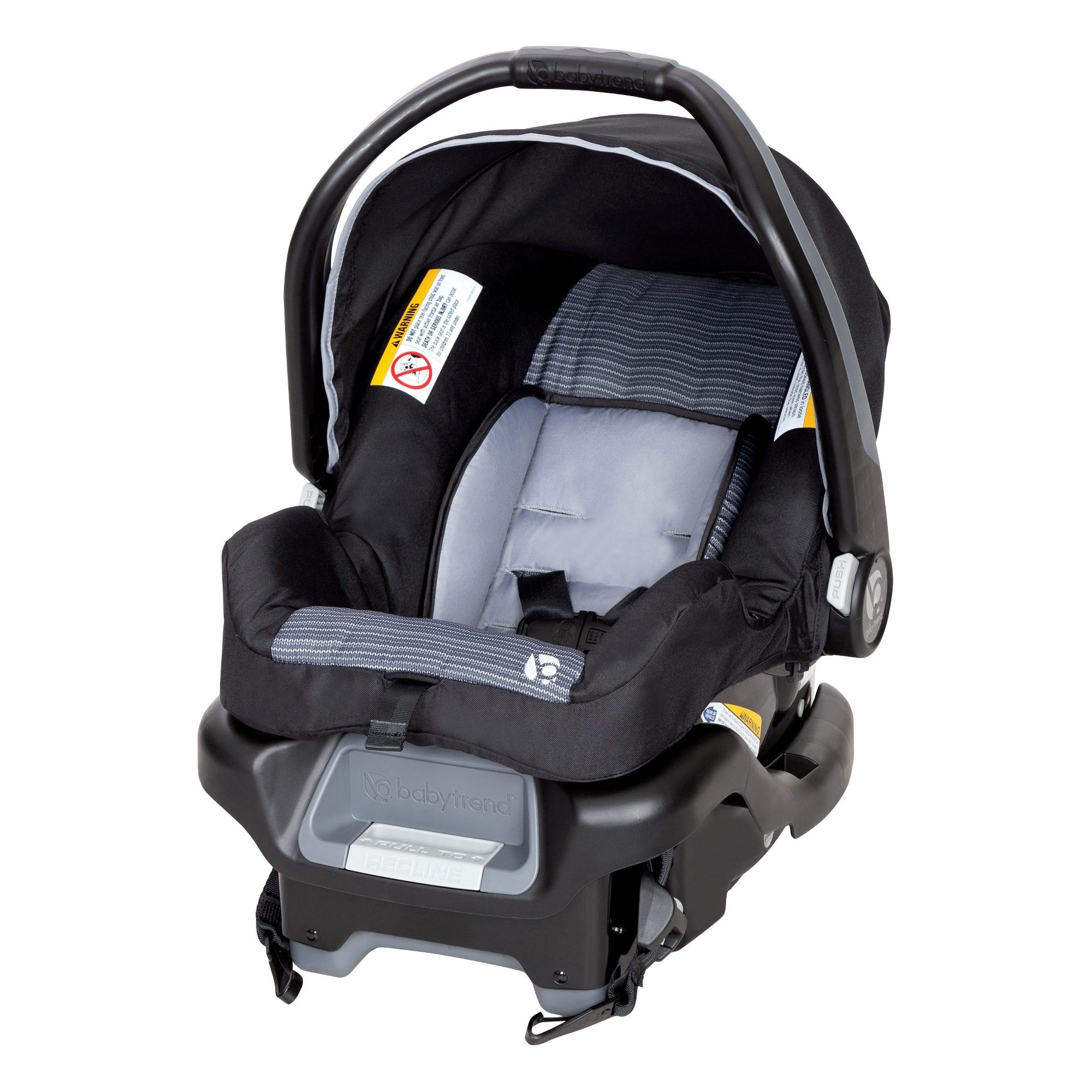 Baby Trend Ally 35 Infant Car Seat Crochet, Black Baby