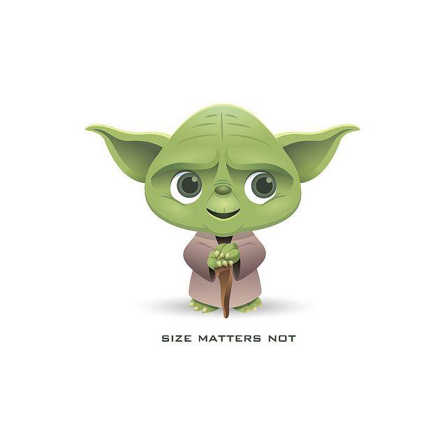 Little Yoda Dibujos De Star Wars