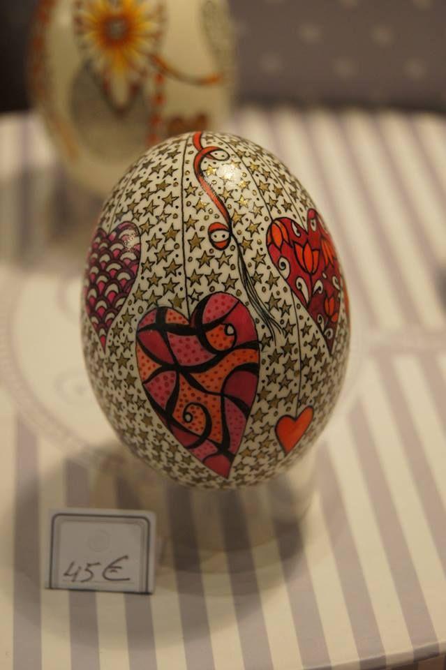 œuf décoré