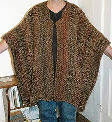 Urban Wrap #997 (Crochet) - free Lion Brand crochet pattern (free registration may be required). Chunky yarn, 9mm hook. Sizes Medium / 1X