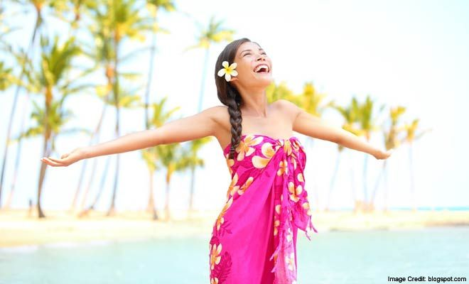wear your Sarong to get different Looks #FashionStyle