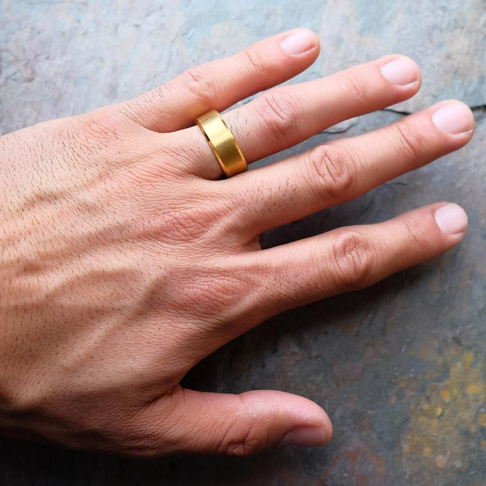 Pin On Unique Men S Wedding Bands