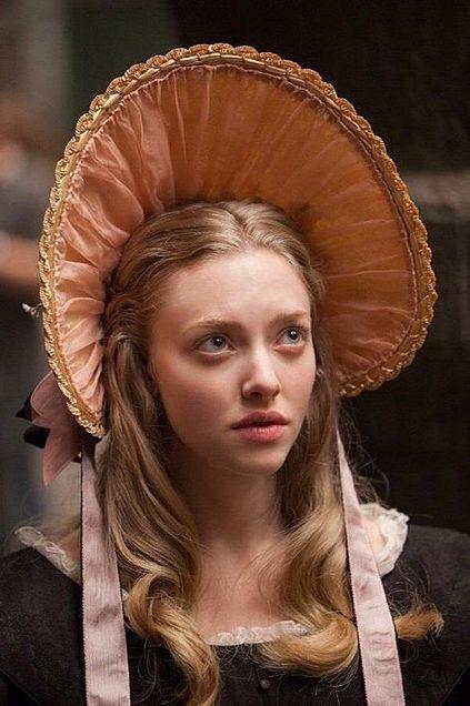 帽子を被ったレ・ミゼラブルののコゼットのスマホ壁紙
