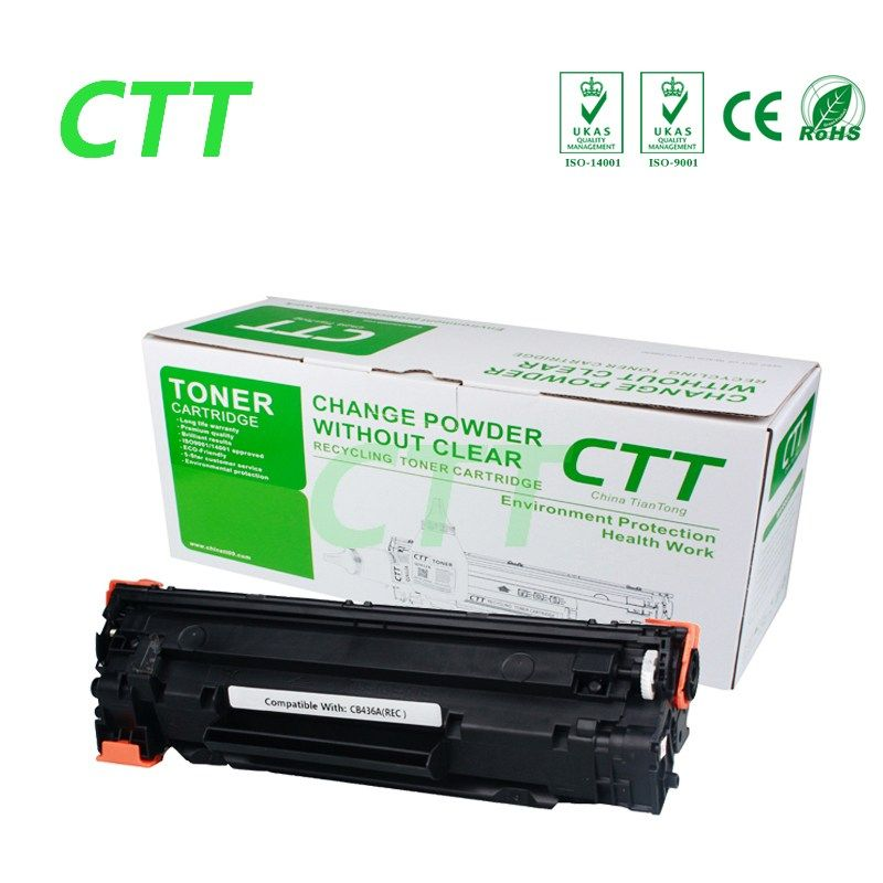 On sale US $1650 Refillable CB436A 36A Compatible Toner Cartridge - free resume printer
