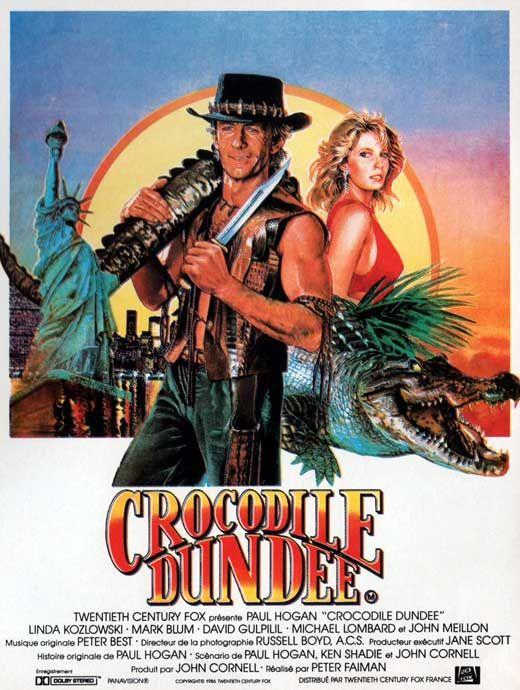 Crocodile Dundee 1986 Paul Hogan Directed By Paul Hogan