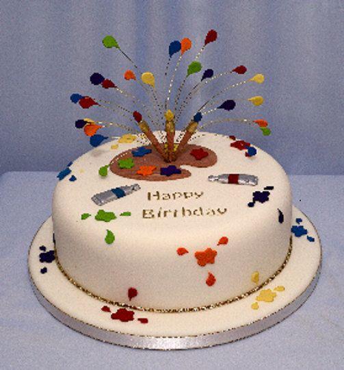 Cute Cake Artist Cake Cake Cake Decorating